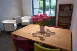 Cuisine et salle à manger du Pavillon de Beaumont