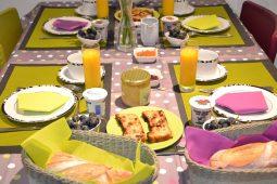 Petit-déjeuner du Pavillon de Beaumont