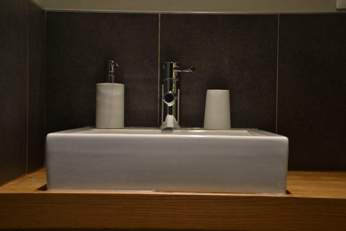 Salle de bain chambre d'hôtes à lille Tilleul Pavillon de Beaumont